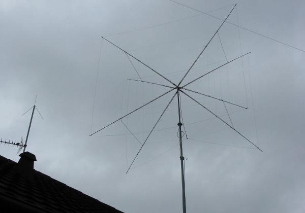 2 element quad antenne