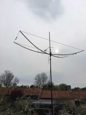 Byg en Moxon antenne til 50 MHz